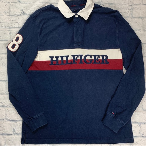 Tommy Hilfiger Other - Tommy Hilfiger Rugby Long Sleeve Polo